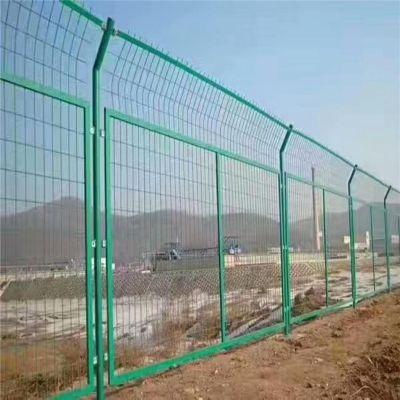 现货护栏网 框架护栏网 边框式防攀焊接护栏网-安平县优盾防护网