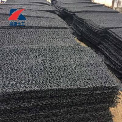 厂家现货销售渗排水片材 土工席垫 乱丝状排水网速排龙