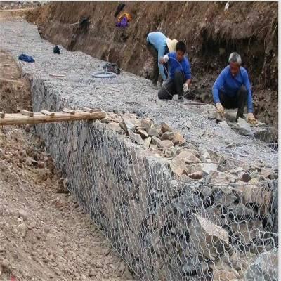 供应 专业低碳钢丝格宾网 石笼箱厂家
