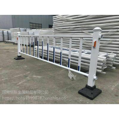 供应市政道路护栏机非隔离广告板栏杆公路不锈钢安全防撞栏现货
