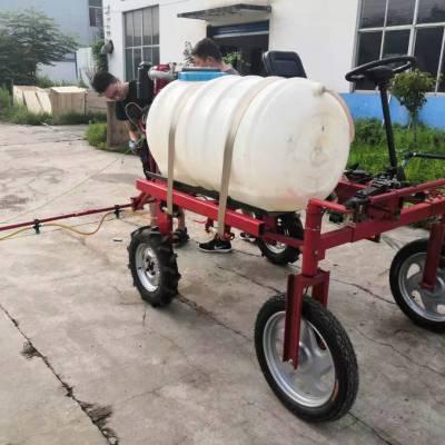 科圣 自走式亚博正式官网 柴油四轮四驱喷雾机 400L加长喷杆喷药车