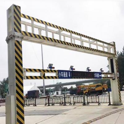 焦作博爱县 自动升降限高架厂家 升降限高杆价格 HTXGJ限高杆 量身定制
