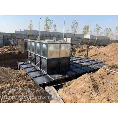 平顶山地埋式箱泵一体化消防水箱