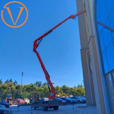 20米升降机 液压升降平台 曲臂升降车 星汉制造