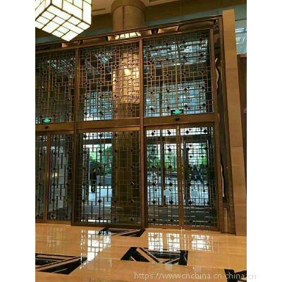 商業街道烤漆鋁合金花格供應廠家,木紋鋁護欄設計定制