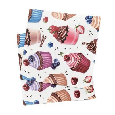 厂家直销防水防滑隔热PP餐垫 简约塑料彩印桌垫logo定制