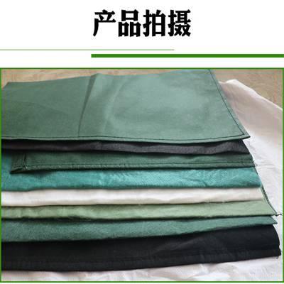润泽土工 80cm绿色长丝生态袋价格 河道边坡的垒砌方式