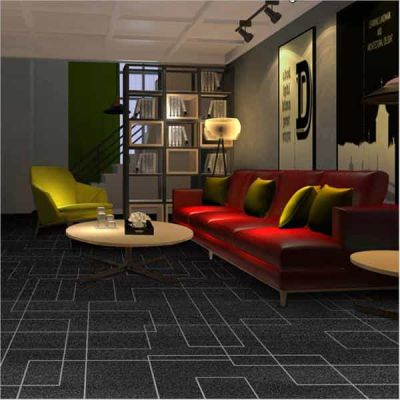 丽水松阳售楼部房产销售大厅展厅地毯 客厅可定制地毯图案