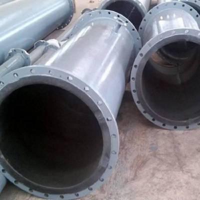 电厂脱硫用衬胶管道生产