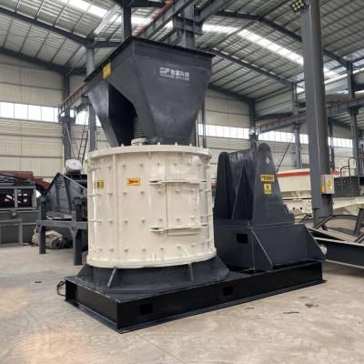 工厂定做大小型立轴式制砂机 石子混料打砂机 鹅卵石立轴复合破碎机