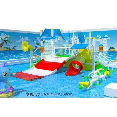 水上滑梯水上乐园彩虹滑梯亲子水寨水战游乐设备室外亲子乐园北京同兴伟业