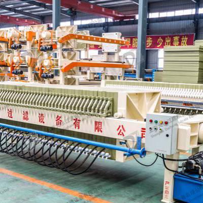 自动液压小型隔膜压滤机 隔膜板框压滤机 高压隔膜压泥机污水处理