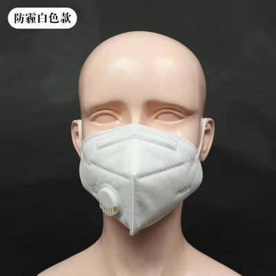 9001v口罩 带活性炭的黑色口罩折叠式口罩带呼吸阀 一次性口罩的正反面