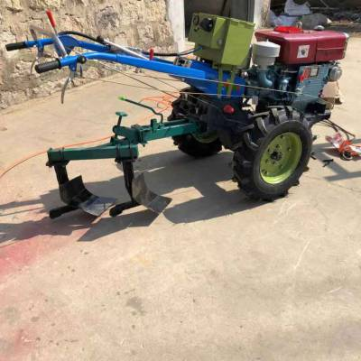 8-22马力手扶拖拉机 电启动手扶开沟松土机 水旱两用手扶拖拉机