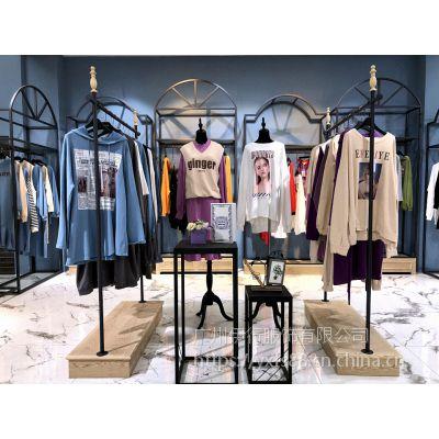 拉夏贝尔女装2019春夏装厂家尾货 拉夏贝尔品牌折扣货源批发