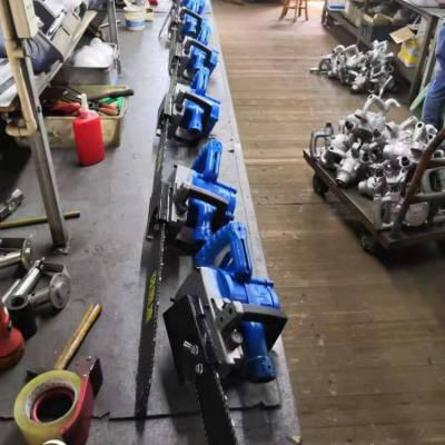 山东JQL-405矿用风动链条锯厂家销售 矿用手持风动锯