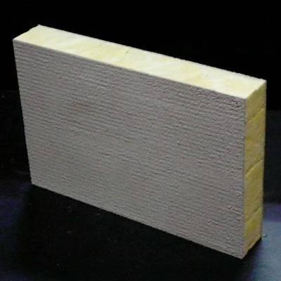 河北外墙防火隔音岩棉保温板 高密度复合砂浆纸岩棉手工板