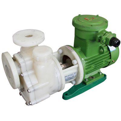 新安江供应FVZ偏氟增强聚丙烯耐腐蚀自吸泵 直联式防爆化工离心泵