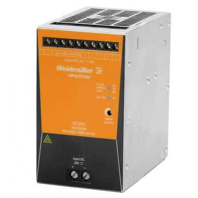 魏德米勒电源代理商2001820000 隔离电源PRO DCDC 480W 24V 20A
