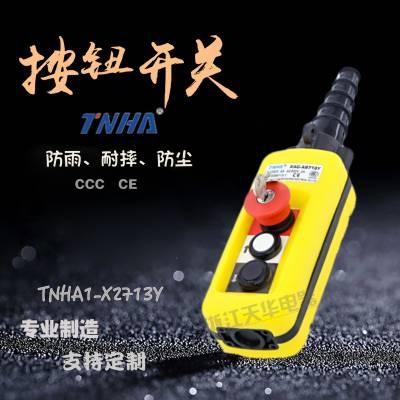 TNHA1-X2713Y电动葫芦控制开关 防雨型行车按钮开关 行车起重机