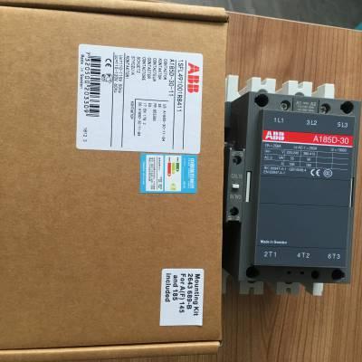 原装正品ABB交流接触器A185D-30-11 110V 220V 380V 300A安装尺寸