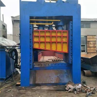 废旧铜板铝板切断压断机 大型钢筋铁丝液压龙门式剪切机