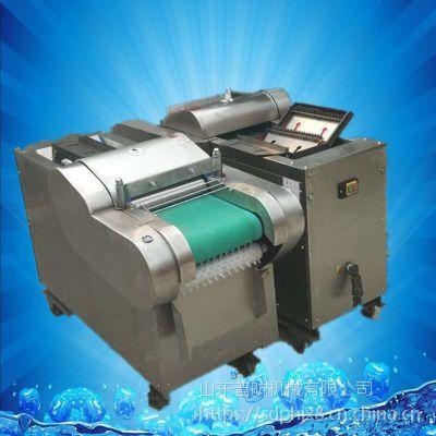 马铃薯切片机 可调型青椒切段机 豆腐切块机厂家