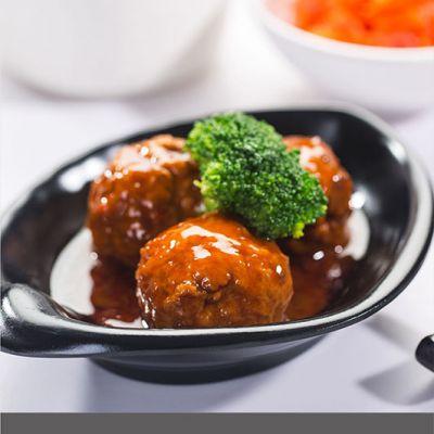 红烧狮子头 200g/袋 南湖船菜牌 冷冻简餐盖浇饭速食食品方便菜肴料理包半成品快餐外卖菜肴包