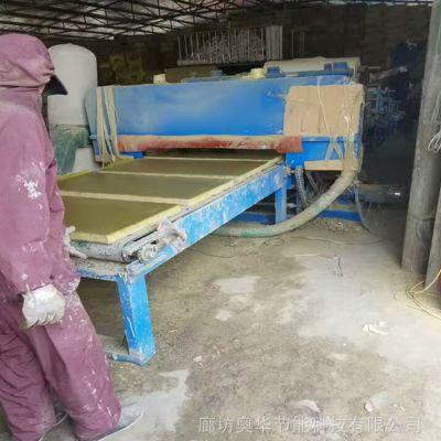 岩棉夹心复合板 防火玻镁岩棉复合板 竖丝岩棉复合板