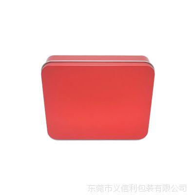 厂家长方形马口铁盒定制 糖果食品铁盒 彩印耳机数据线包装盒