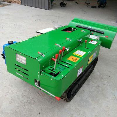 电启动柴油开沟施肥机 自走式履带耕田机润众