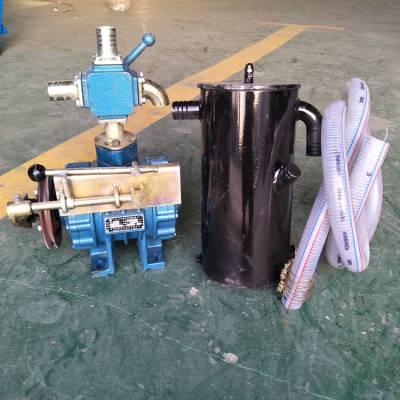 供应甘肃农用三轮吸粪车真空泵洒水车高压泵