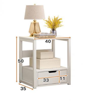 简约现代床头柜 简易收纳小柜子 卧室小床边柜 经济型储物柜