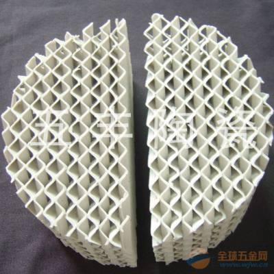 供应陶瓷波纹填料