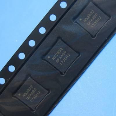 NRF52832-QFAA-R蓝牙4.0BLE低功耗射频芯片 蓝牙芯片可提供烧录服务
