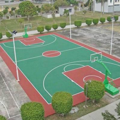 室外硅PU 硅PU蓝球场地 硅PU网球场 硅PU排球场地 硅PU球场 煌盛