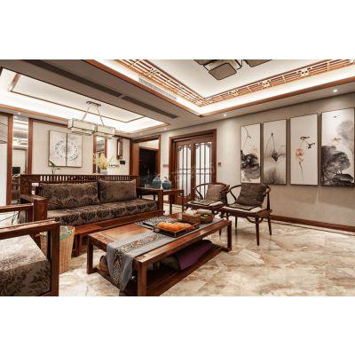 重庆天古装饰金牌设计师,江北龙湖西苑店面导师设计师吴德风 中式风格