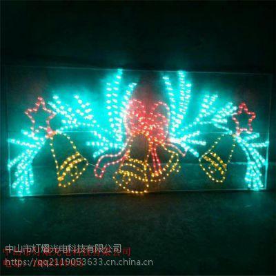 梦幻灯光节产品LED3D造型灯 小猪动物造型 户外防水滴胶造型灯
