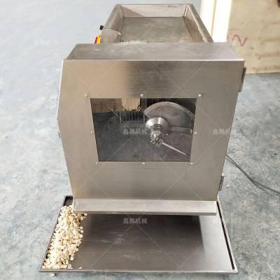 多功能350型冻肉鲜肉切丁机 商用一次成型冰羊肉切鲜丁机 可定制