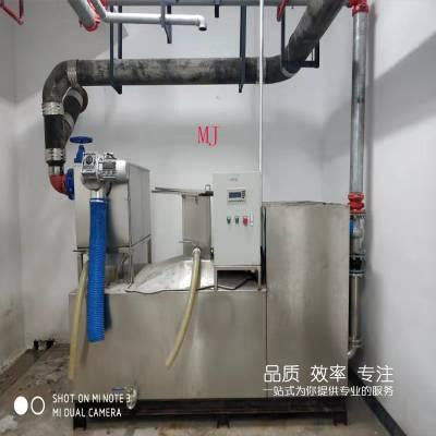 商场餐饮污水后处理用隔油提升一体化设备
