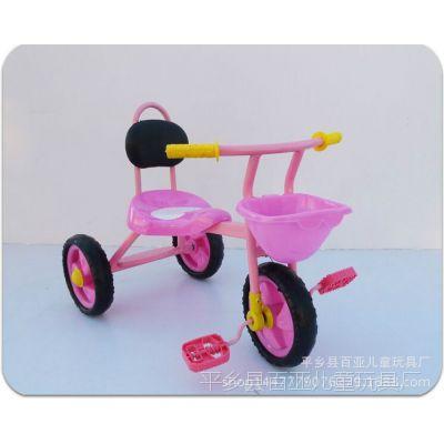 简易儿童三轮车 三轮车 脚蹬三轮车/脚踏车/童车/带前框 带靠背
