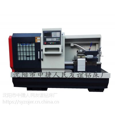 供应CK6140卧式数控车床 cnc控制 主轴两档变速,档内无级变频调速