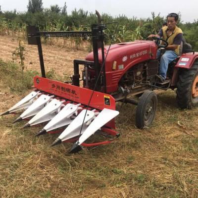 小型苜蓿草收割机 农场手扶自走式剪草机 多功能割玉米杆机器厂家