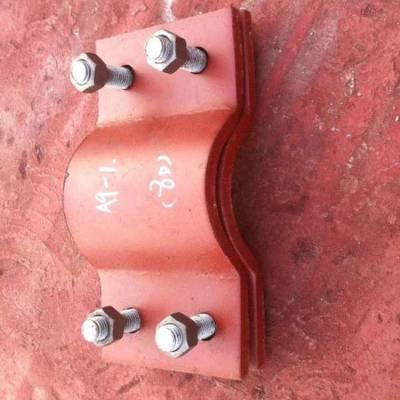 汇鹏厂家直销A9双排螺栓管夹化工标准 国标