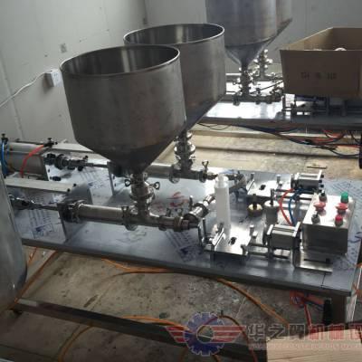 气动膏体灌装机订制 10G-5K气动变体灌装机可以灌装酱料等膏体物料