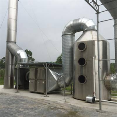 油漆废气处理工程方案-龙腾通风环保设备-广州废气处理工程