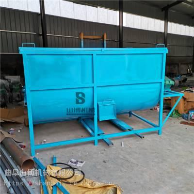 直销新疆养殖牛羊饲料混料机 大容量卧式混合搅拌机