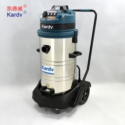 凯德威工业吸尘器DL-3078S 武汉仓库、停车场用吸尘器 3颗1200W马达 吸尘、吸水吸尘器