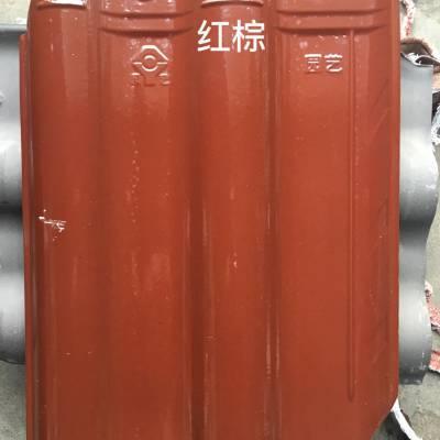 陶瓷连锁瓦 工程古建瓦 淄博缸瓦 工程烧结瓦