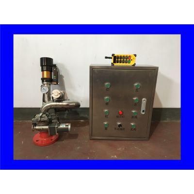 架构简单 电动有线 遥控 电控消防水炮 固定移动式智能消防水炮